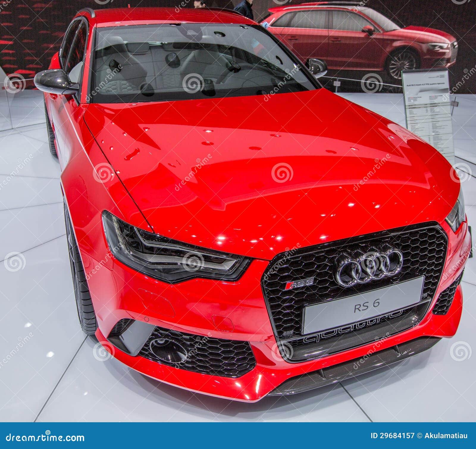 Ottantatreesimo Ginevra Motorshow 2013 - Audi RS6 Avant