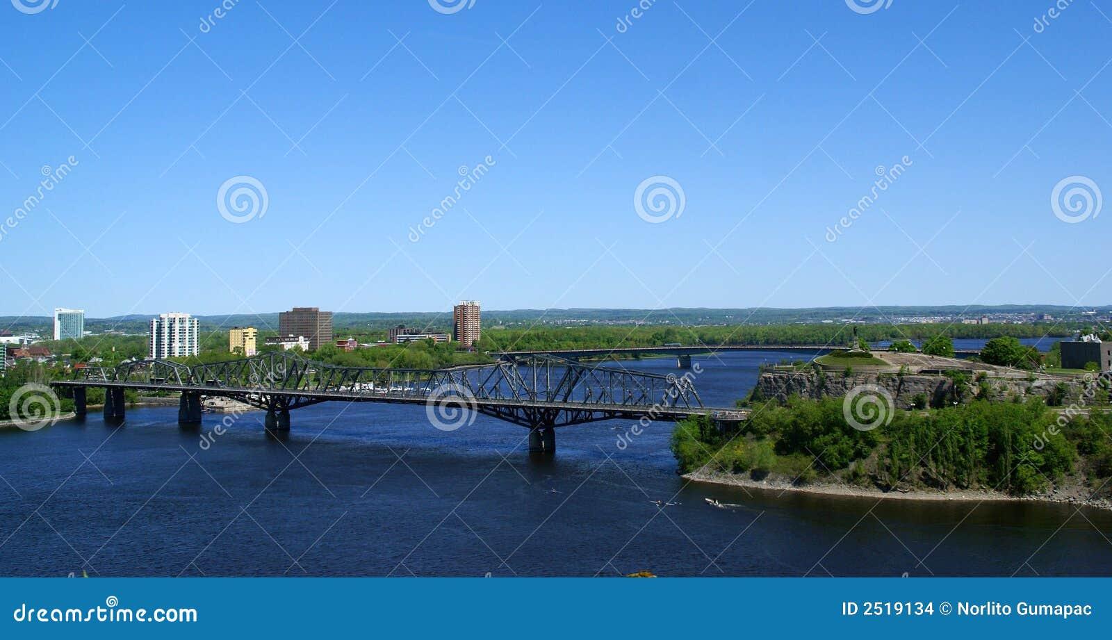 Ottawa ontario alexandra bridg