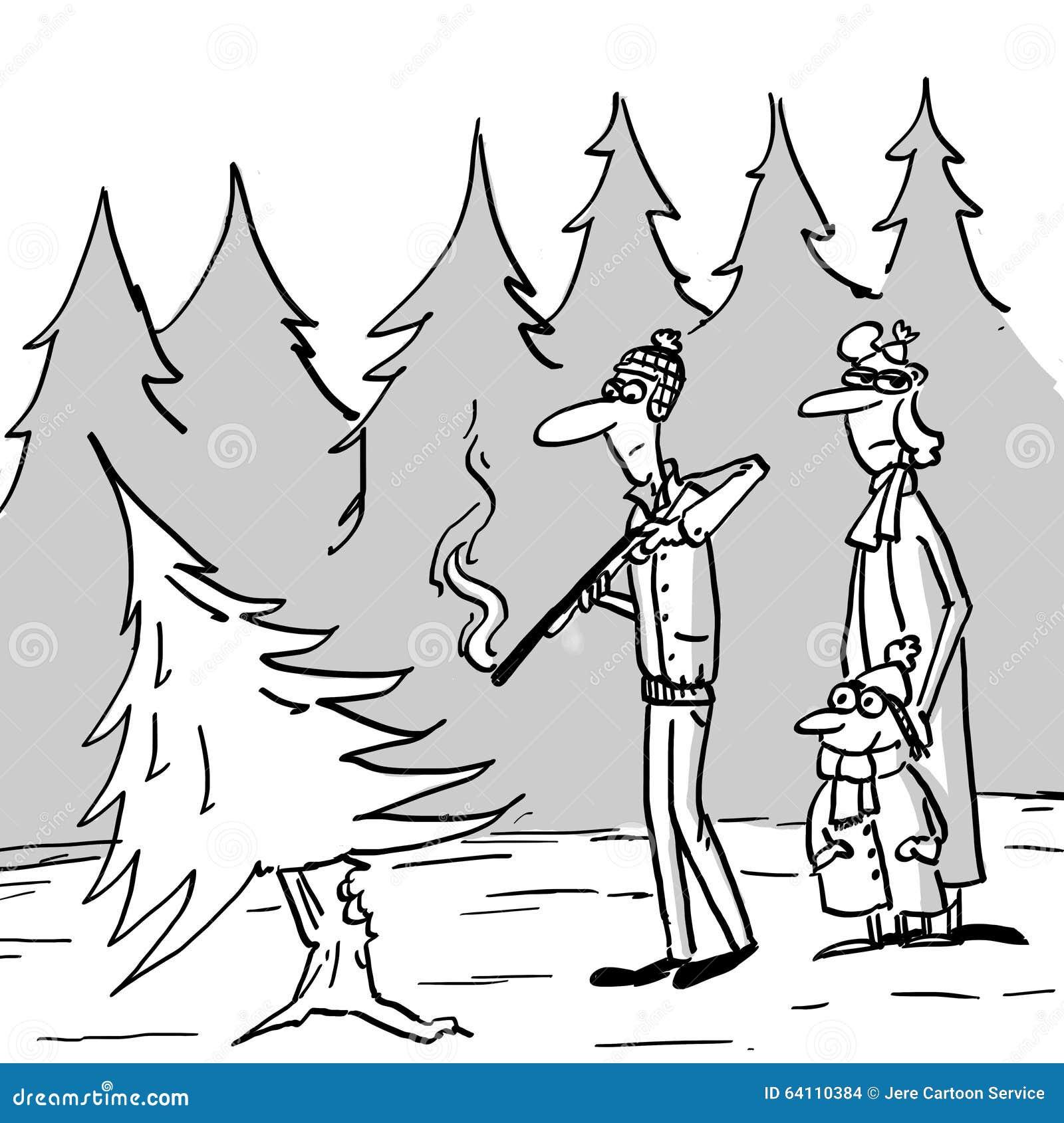 Ottenere un albero di natale illustrazione di stock for Ottenere un prestito di costruzione