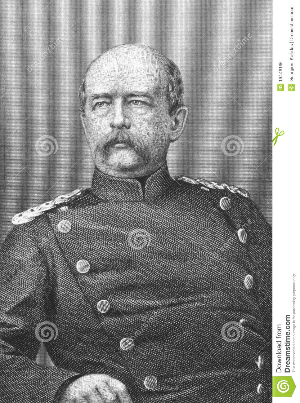 Otto Von Bismarck Editorial Photo - Image: 19446166