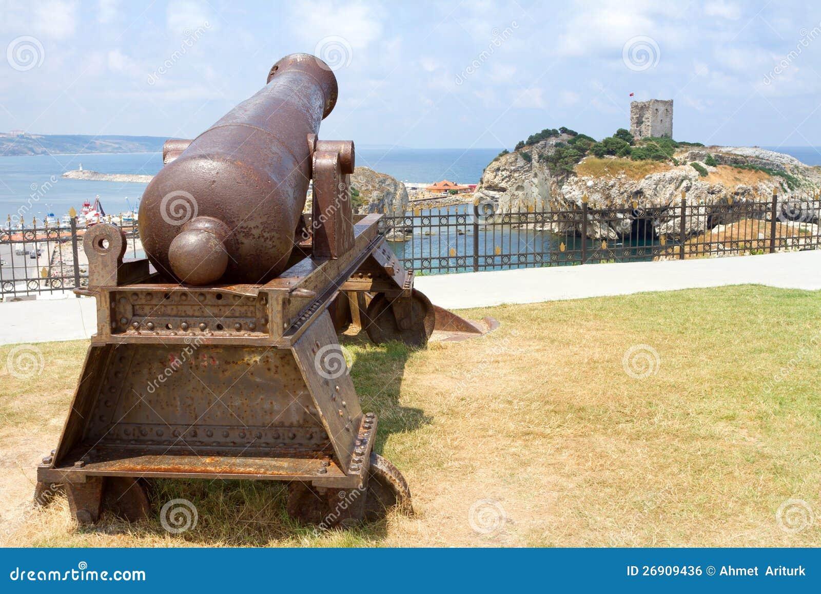 Ottoman Cannon Stock Photo Image Of Armory Coast Fortress 26909436