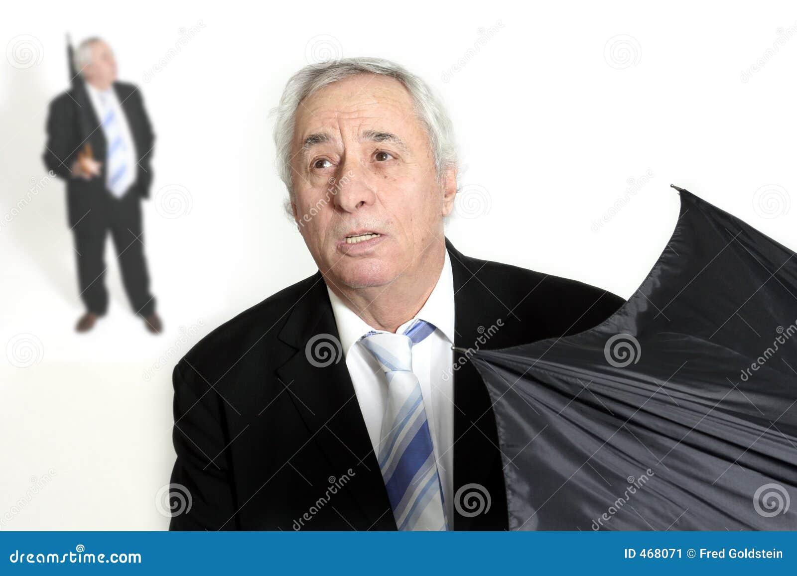 Otwarcie seniora parasolkę
