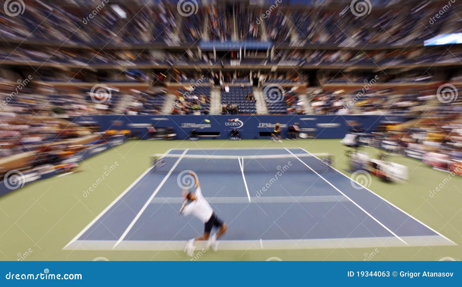 Otwarty dopasowanie tenis my