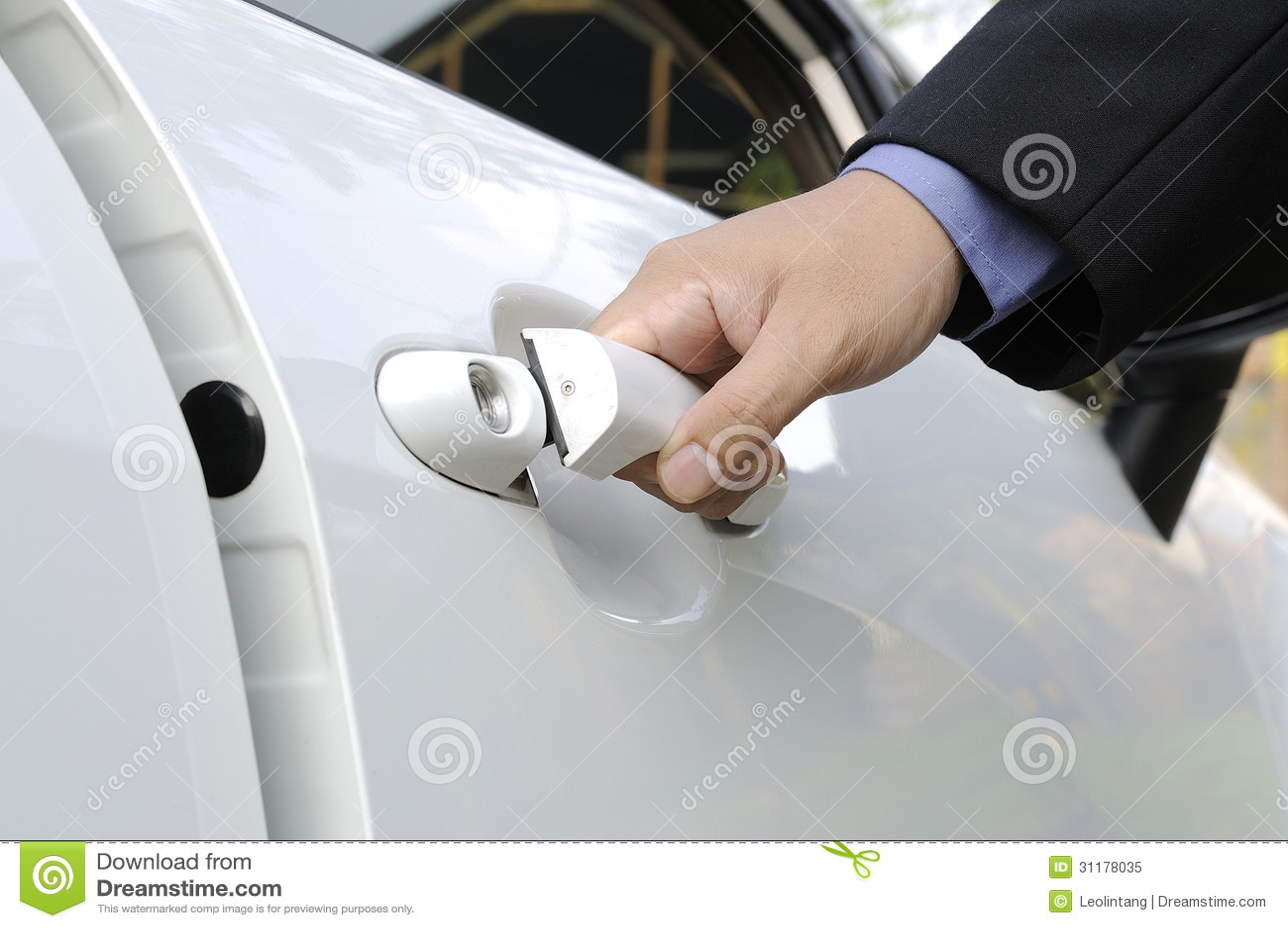 Otwierać Samochodowego drzwi