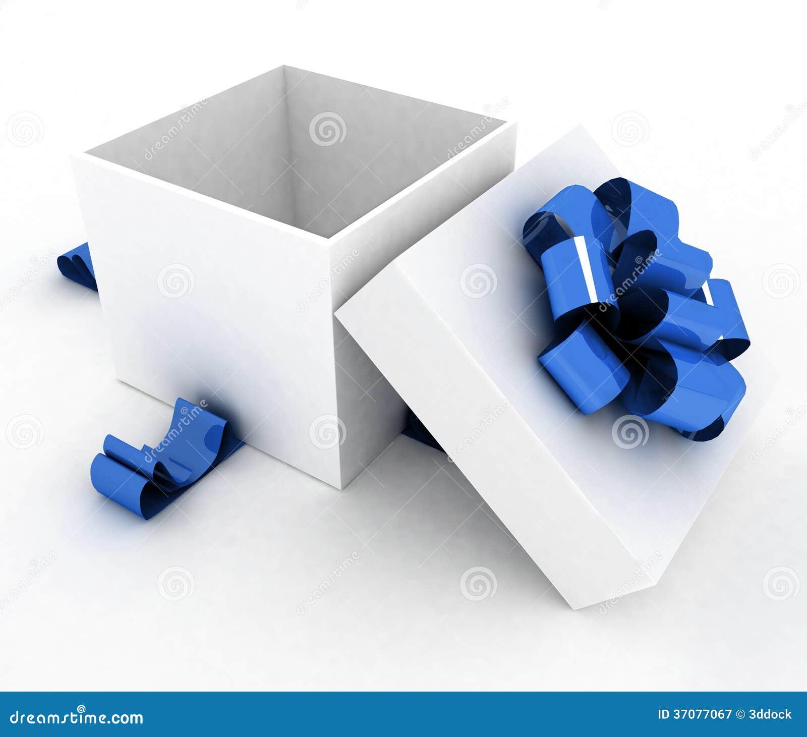 Download Otwiera prezenta pudełko ilustracji. Ilustracja złożonej z dekoracje - 37077067