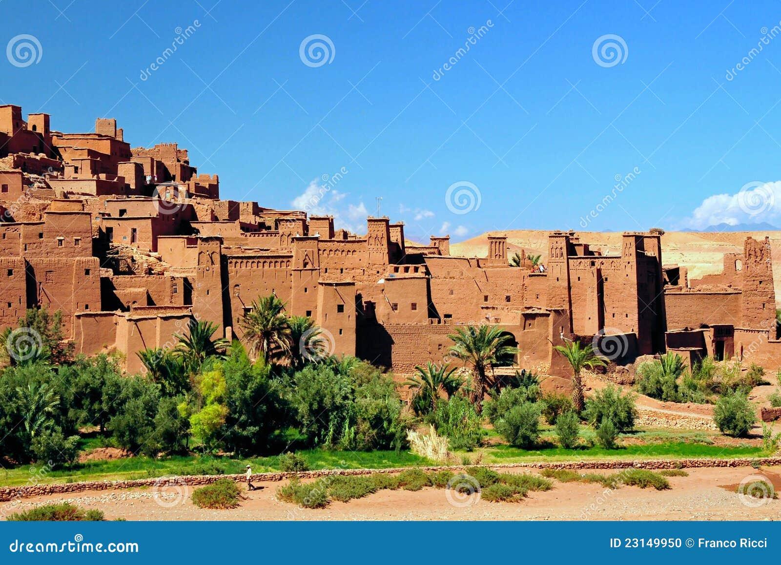 Ouarzazate AIT Benhaddou em Marrocos