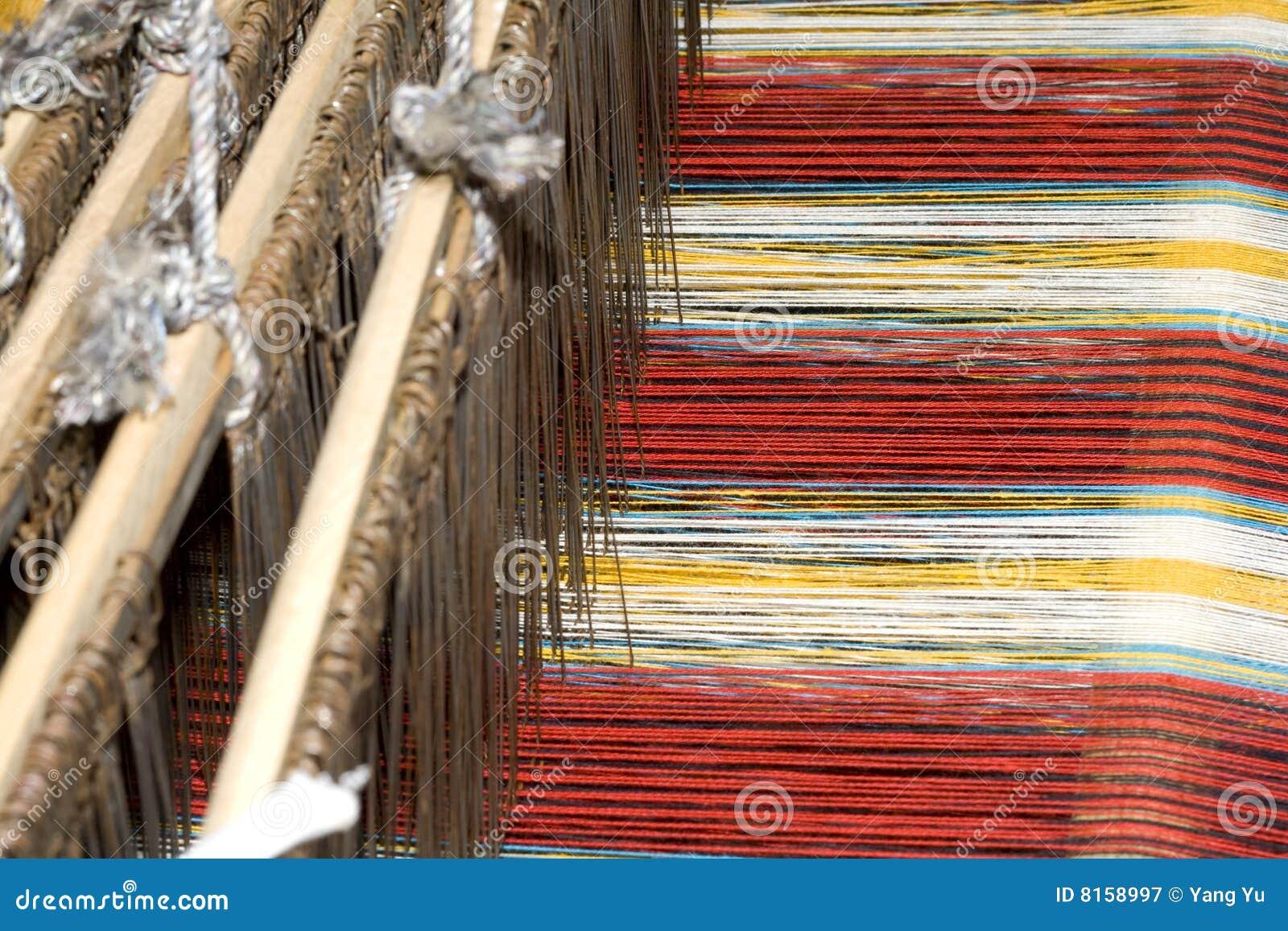 Oud Chinees weefgetouw