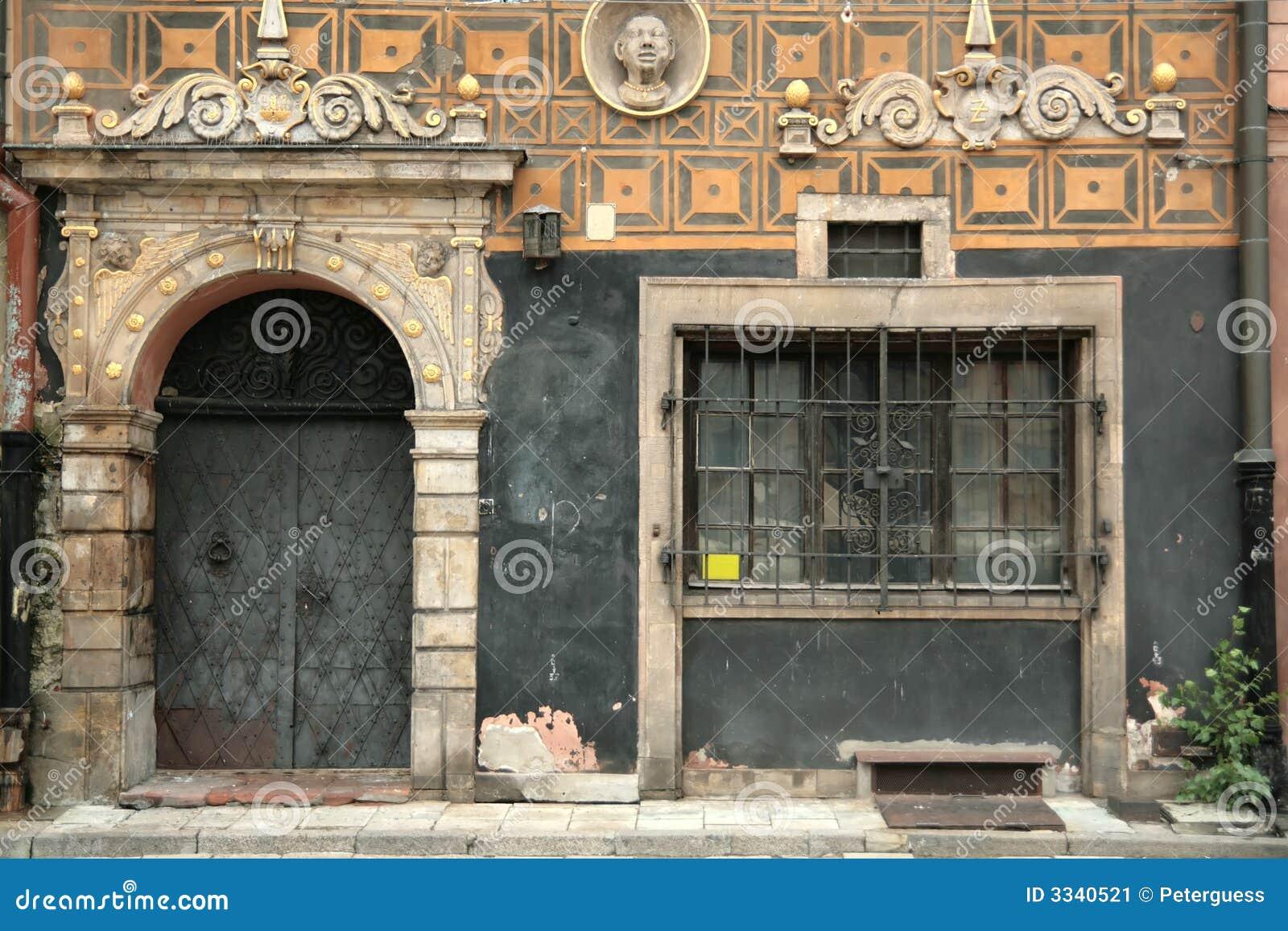Oud deur en Venster 1