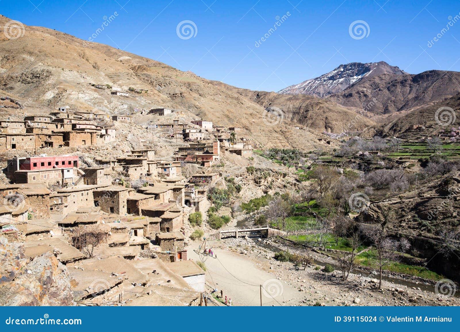 Oud dorp in de Atlasbergen