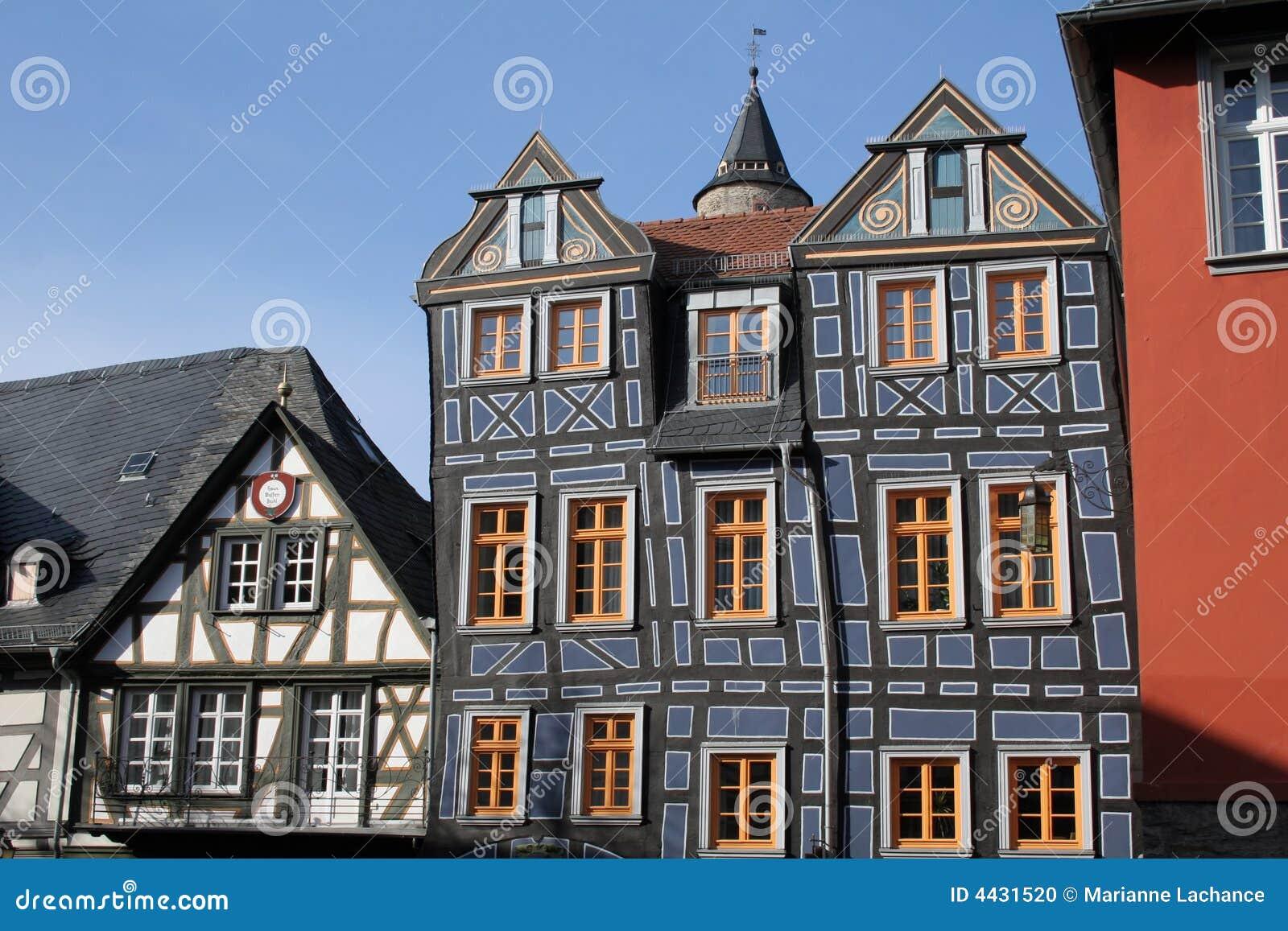 Oud duits huis stock foto afbeelding 4431520 - Oud huis ...