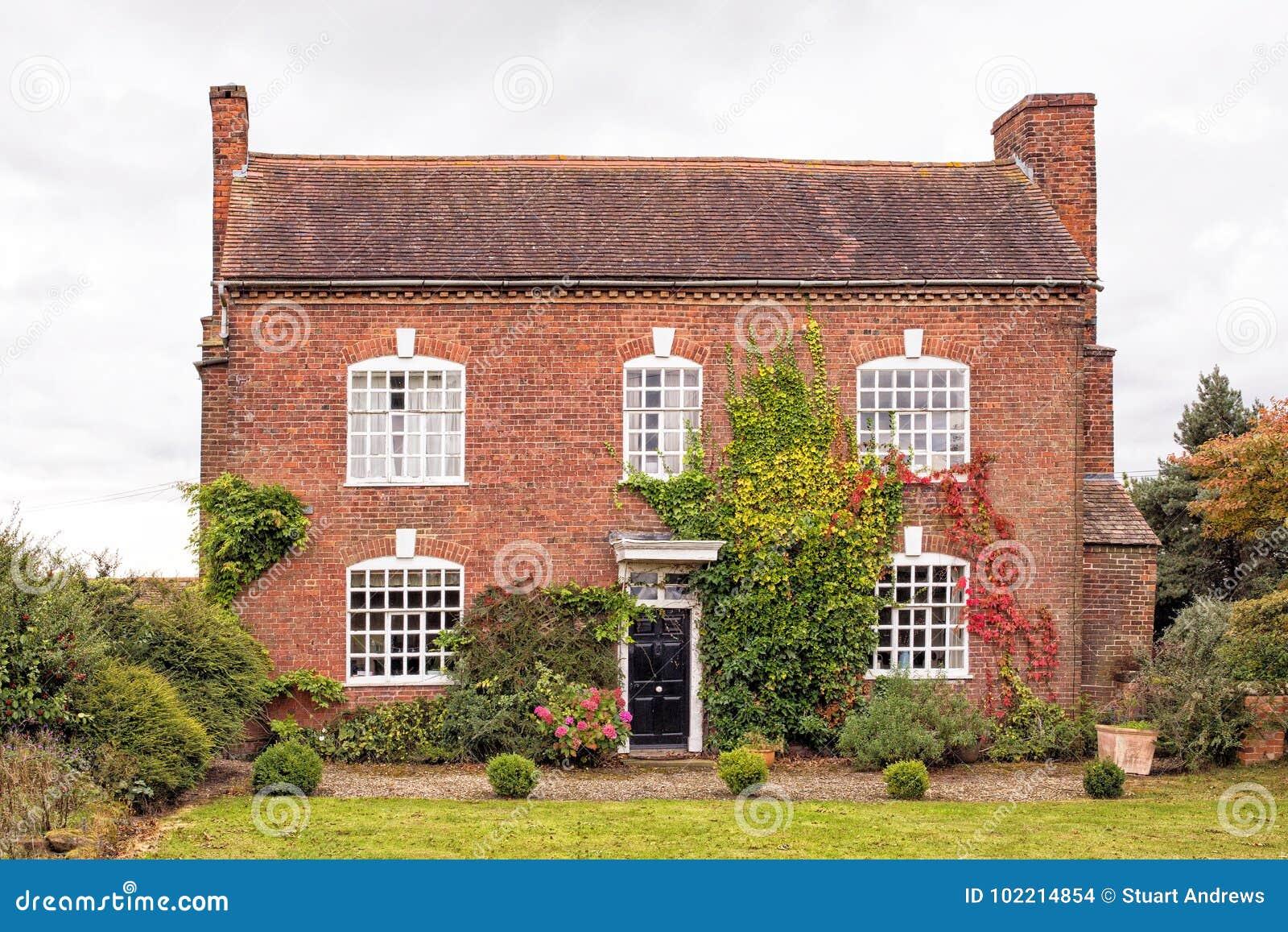 Oud Engels Buitenhuis, Worcestershire, Engeland