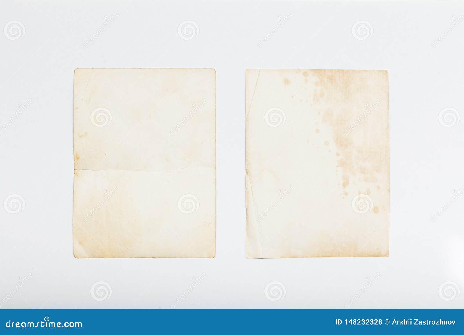 Oud foto uitstekend kader, document albumprentbriefkaar
