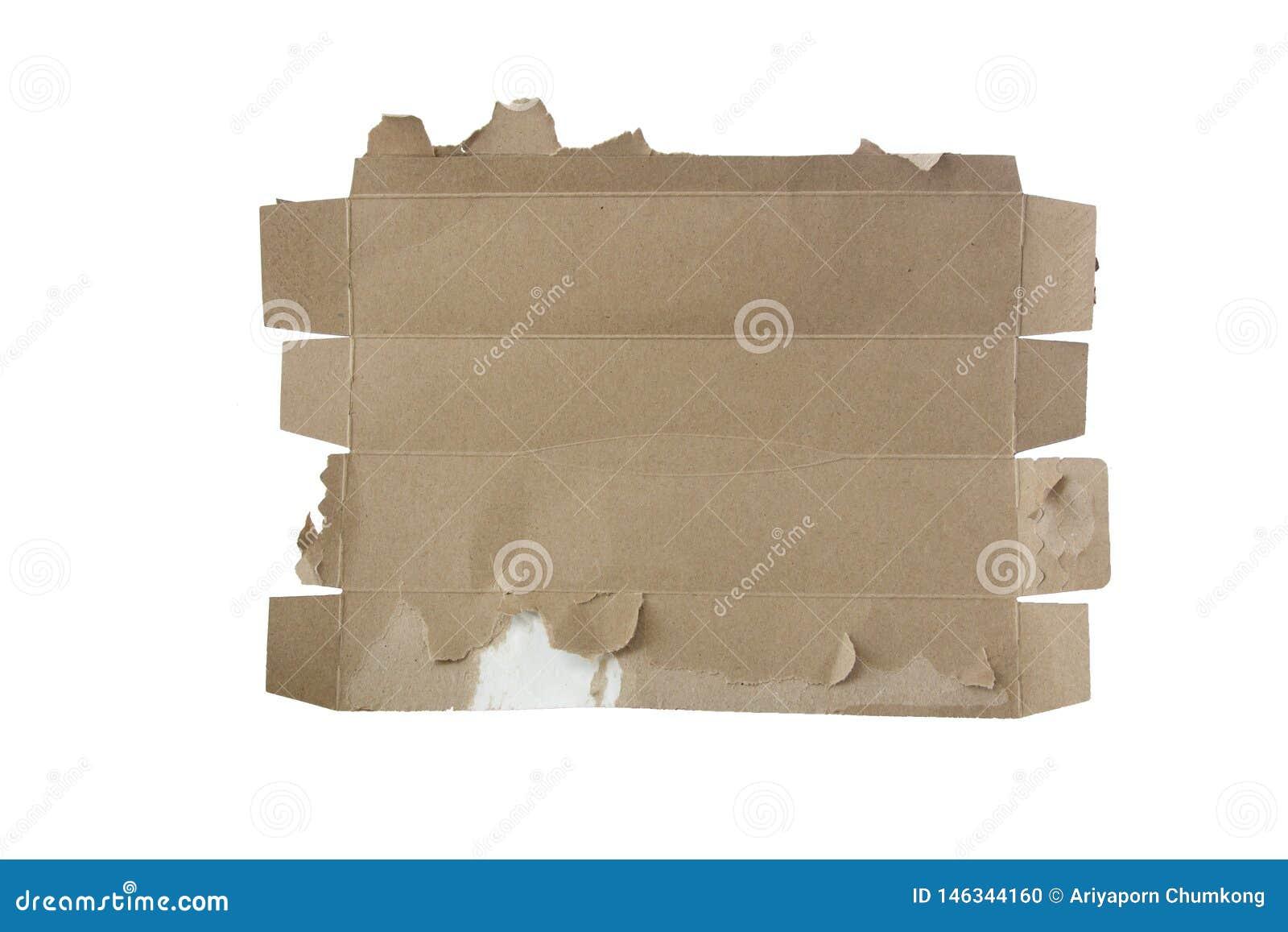 Oud gescheurd document