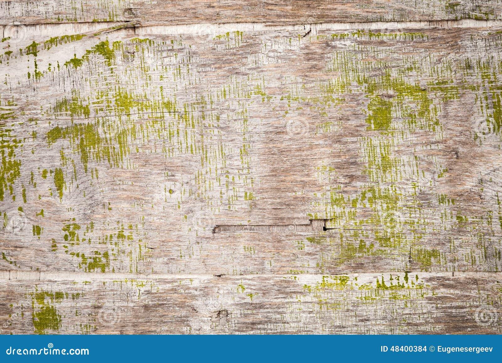 Oud grungy triplex met groene verf, achtergrondtextuur