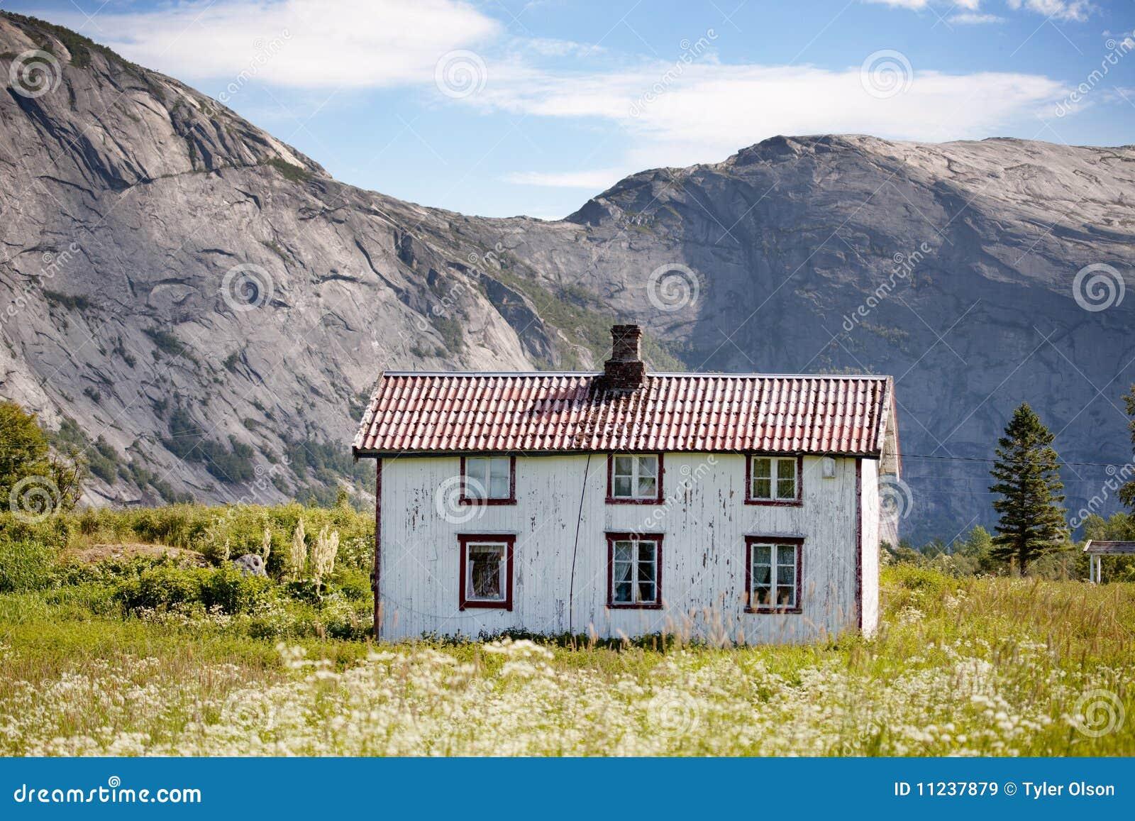 Oud huis noorwegen royalty vrije stock afbeeldingen afbeelding 11237879 - Oud huis ...