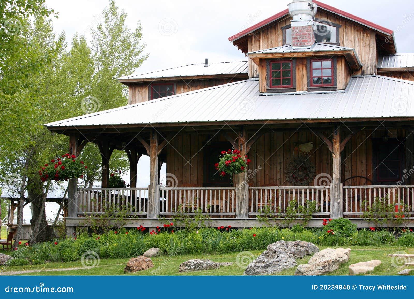 Oud huis op boerderij