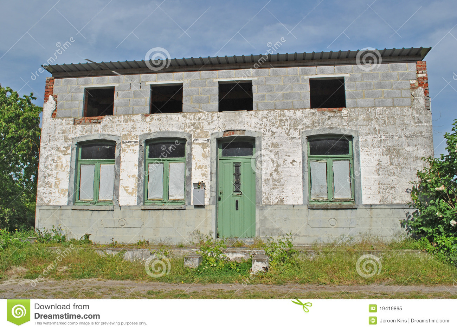 Oud lelijk huis royalty vrije stock foto afbeelding - Ver casas bonitas ...