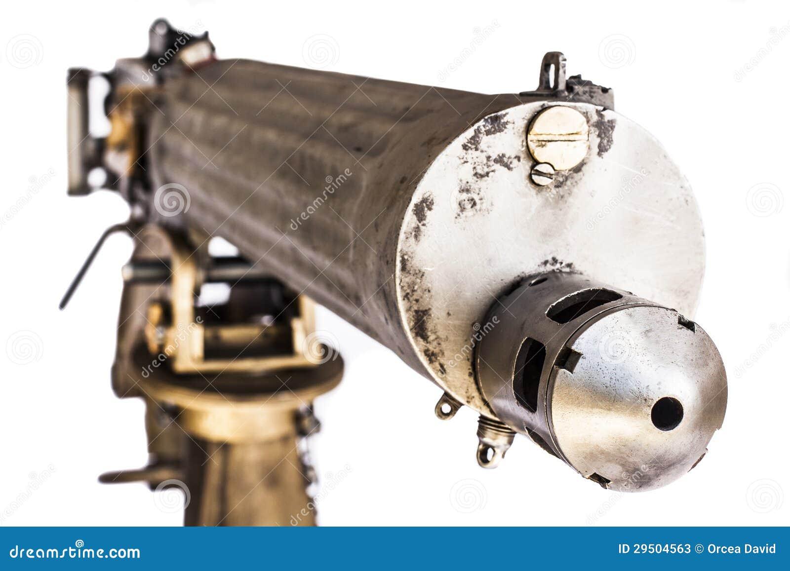 Oud Machinegeweer