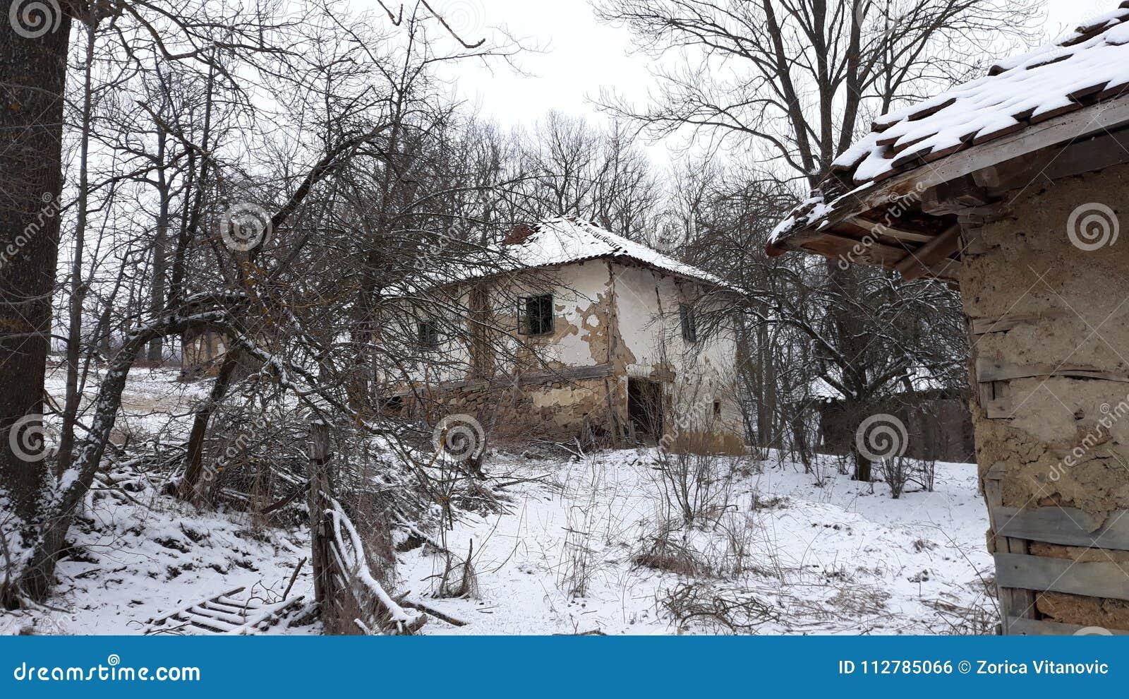 Oud modderhuis