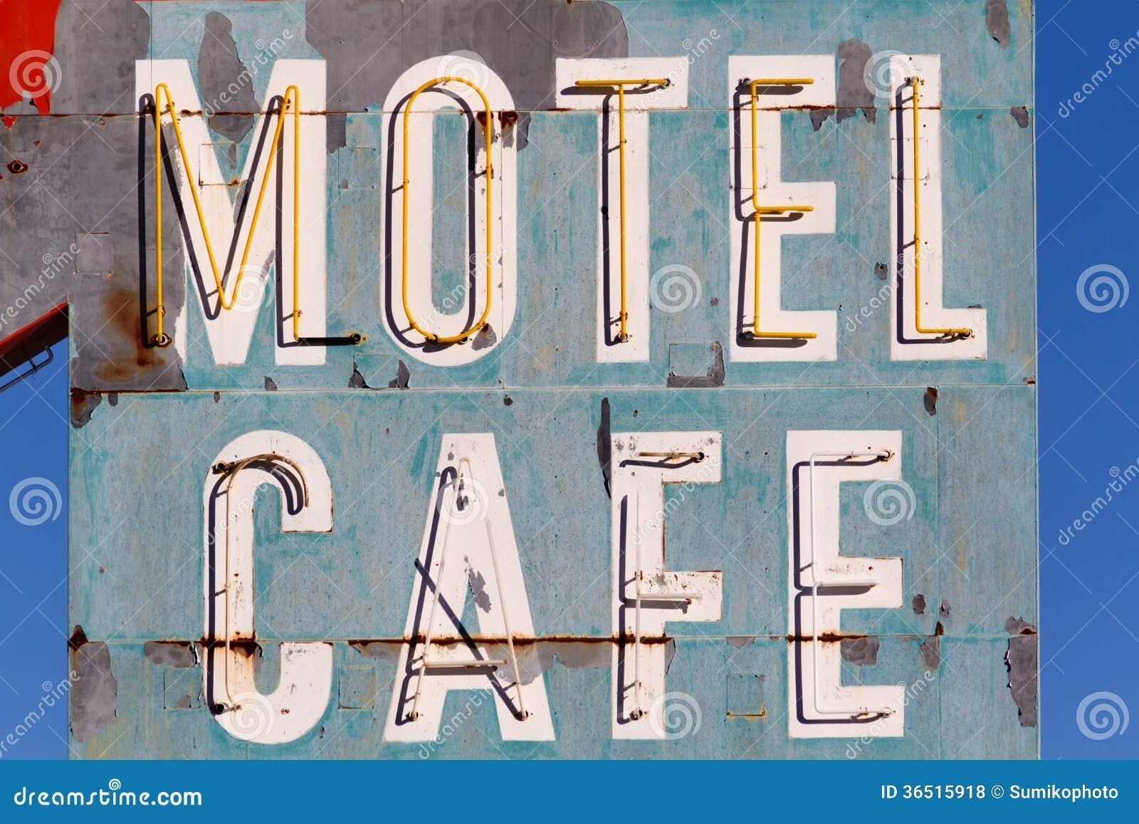 Oud Motel en Koffieteken