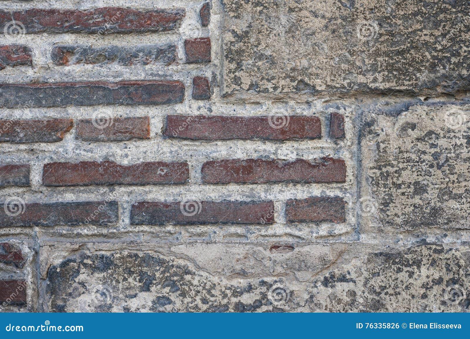 Oud muurfragment