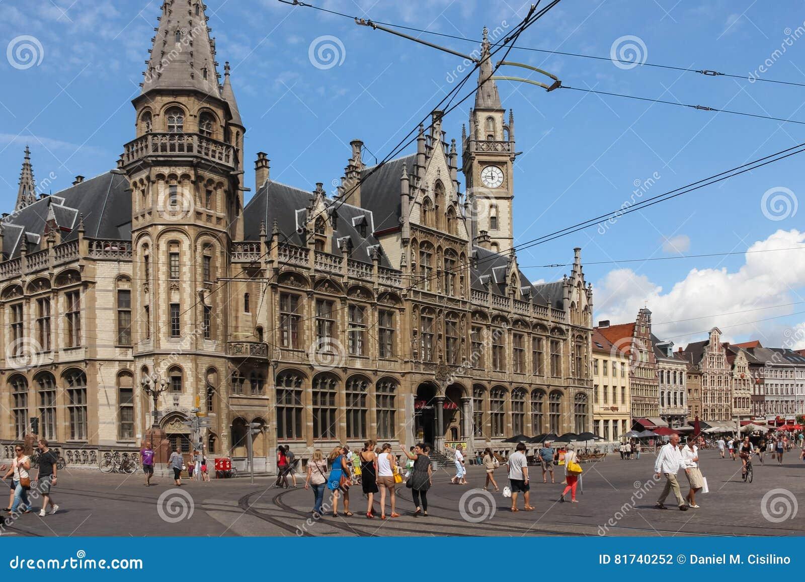 Oud Postkantoor Korenmarkt gent belgië