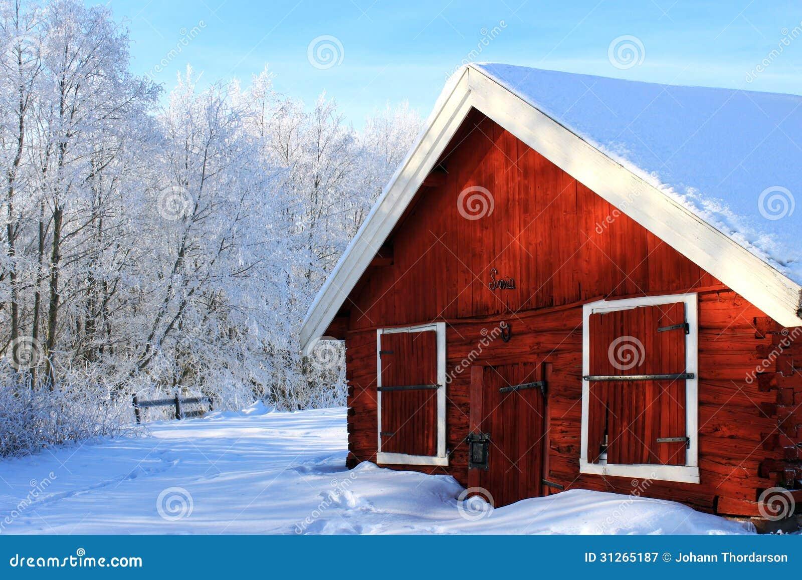 Oud rood huis royalty vrije stock fotografie afbeelding 31265187 - Oud huis ...