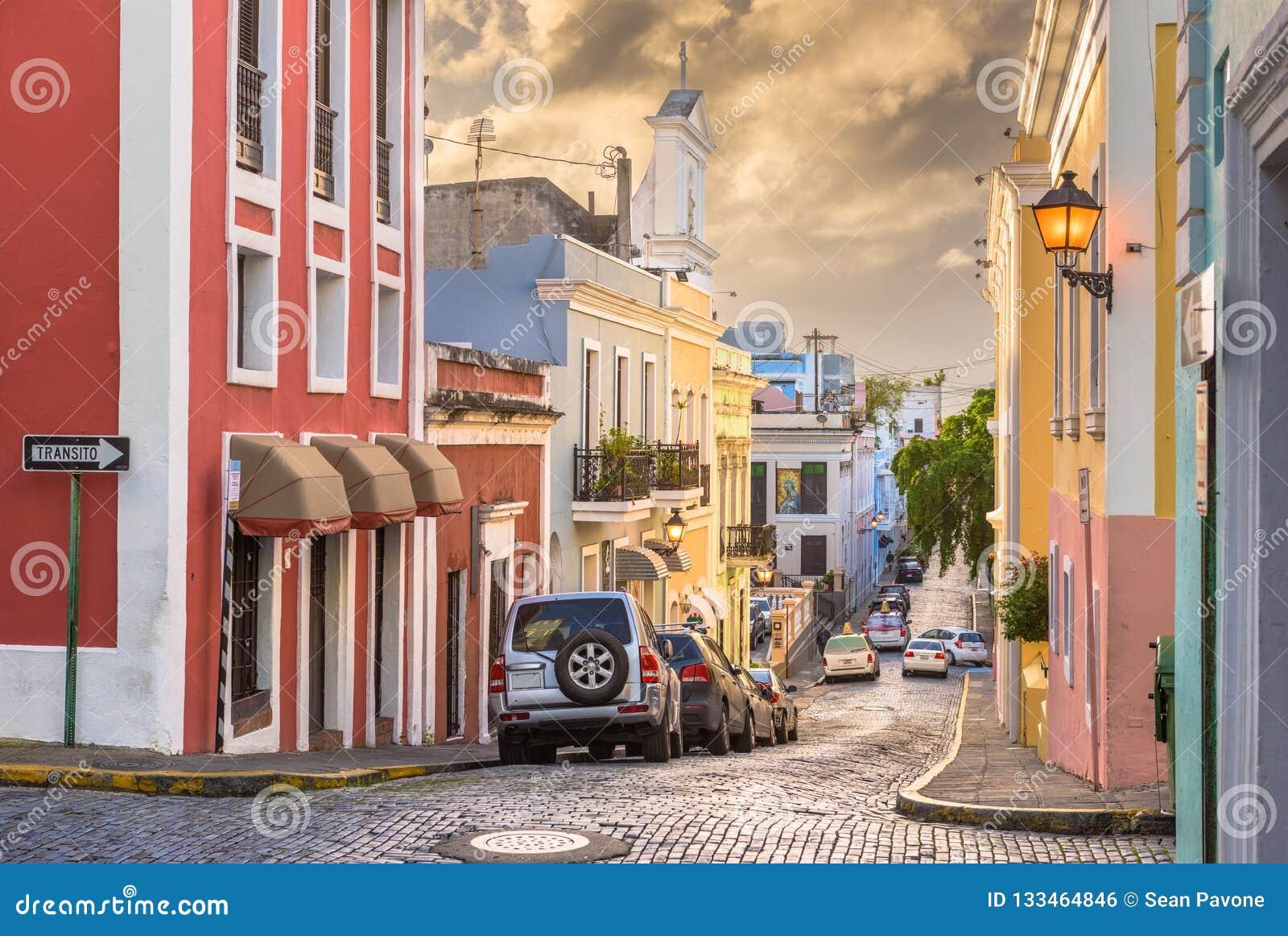 Oud San Juan, Puerto Rico Streets