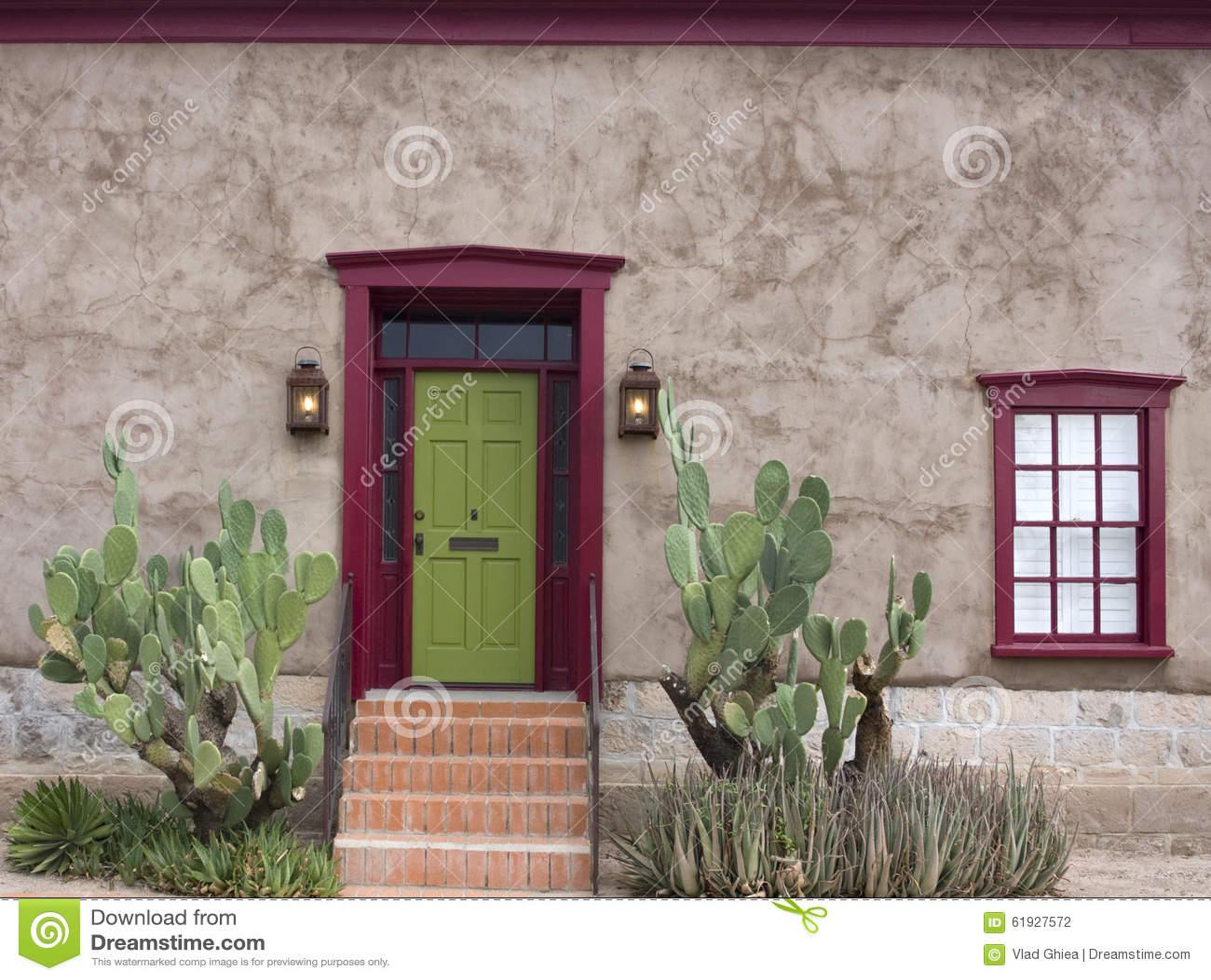 Oud Tucson, huisingang