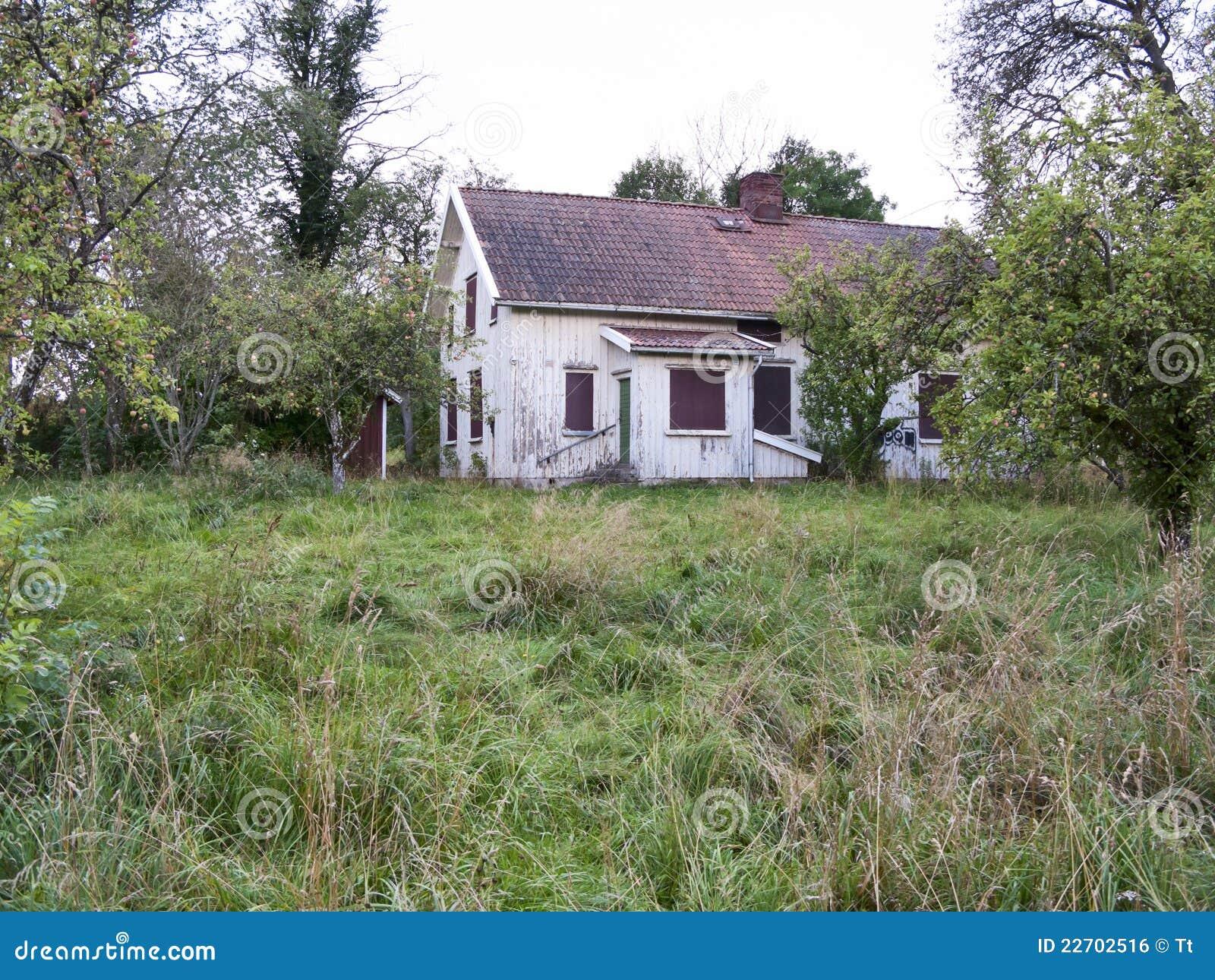 Oud verlaten huis royalty vrije stock afbeelding afbeelding 22702516 - Oud huis ...