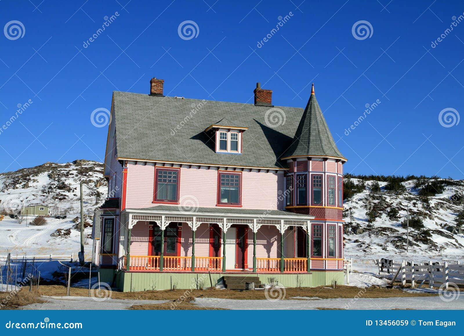 Oud victoriaans huis stock afbeelding afbeelding bestaande uit landelijk 13456059 - Lay outs oud huis ...
