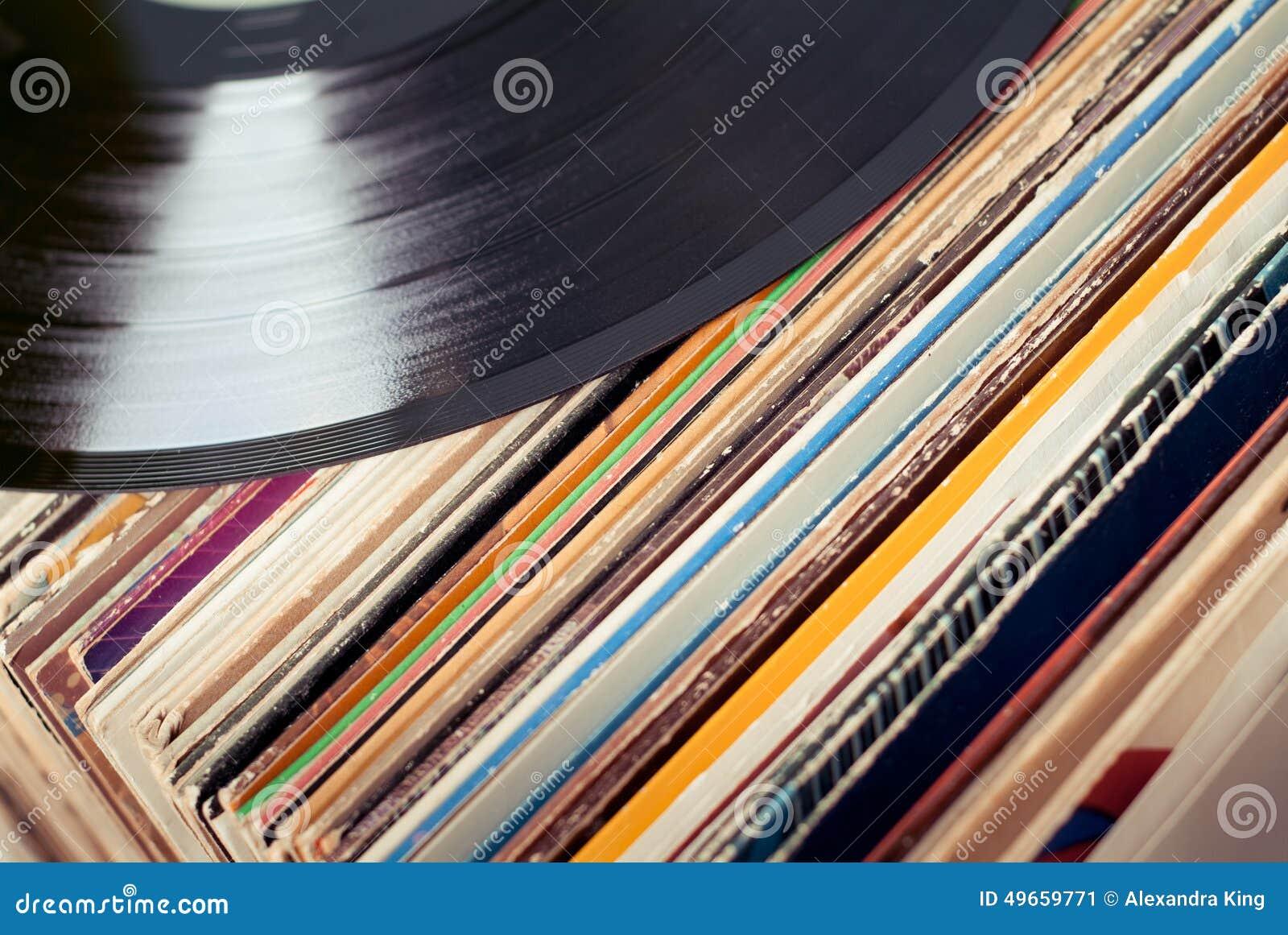Oud vinyl