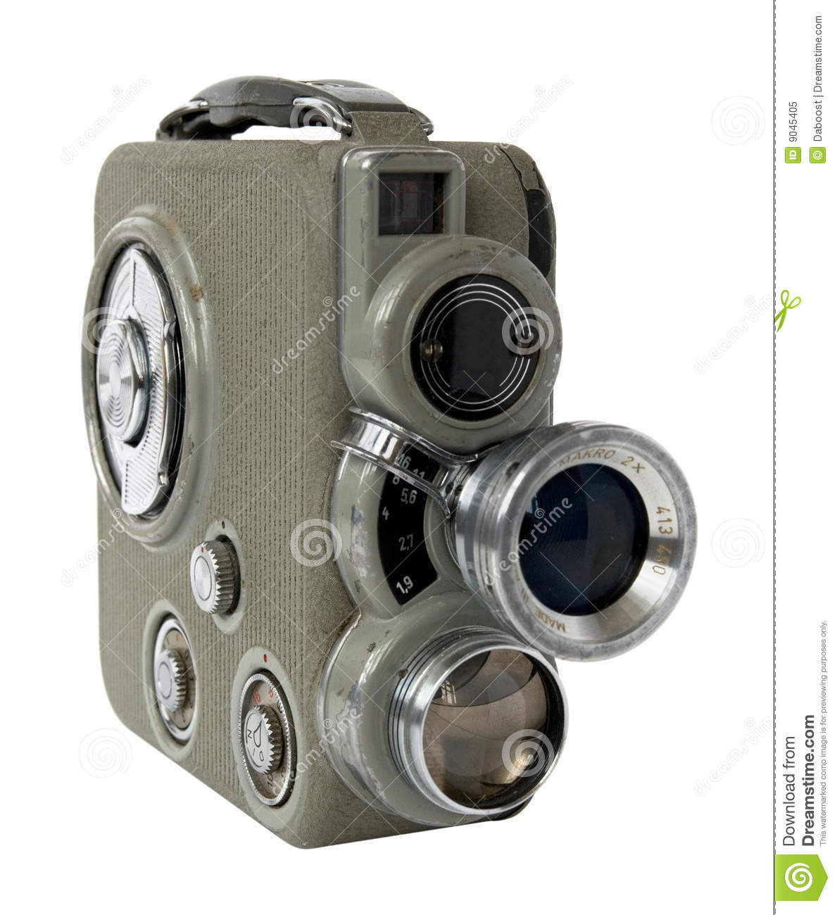 Oude 8mm camera