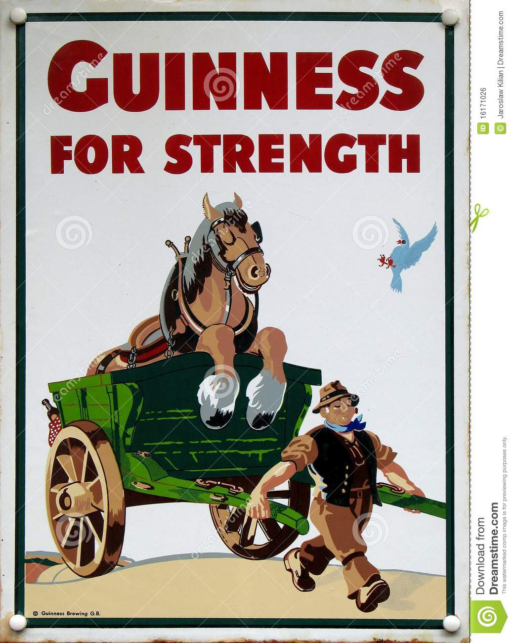 Oude advertentie - Guiness
