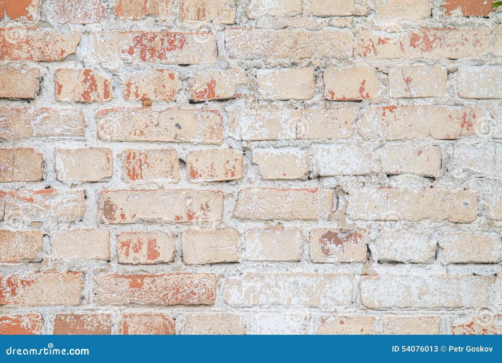 Oude bakstenen muurtextuur
