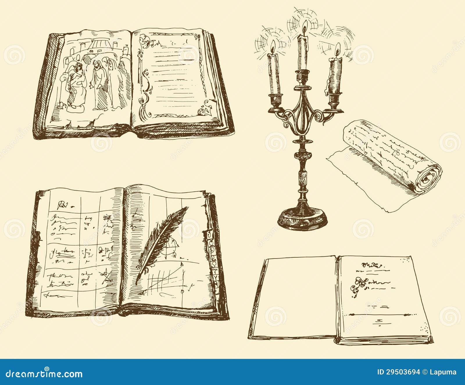 Oude boeken en registers
