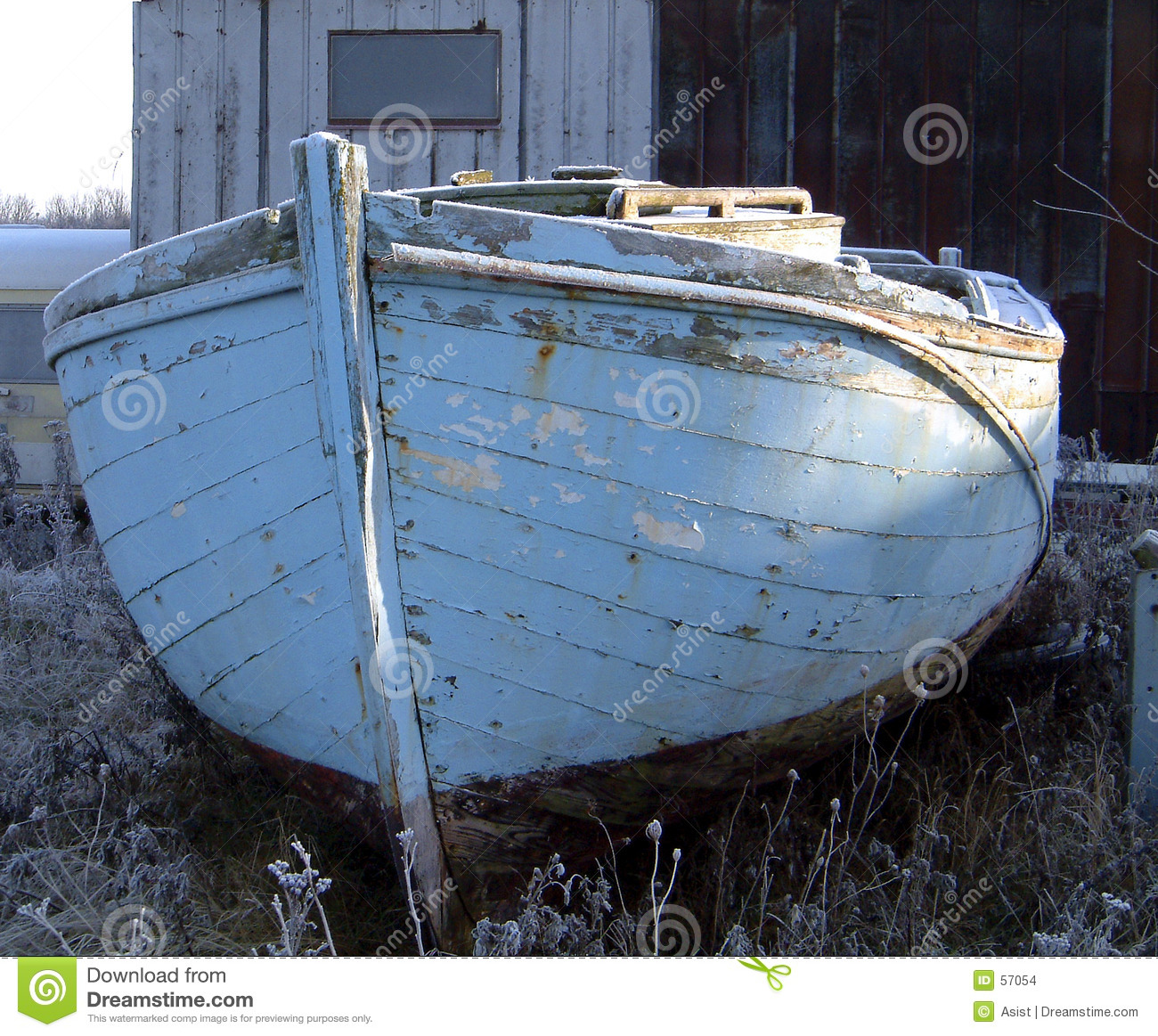 Oude boot