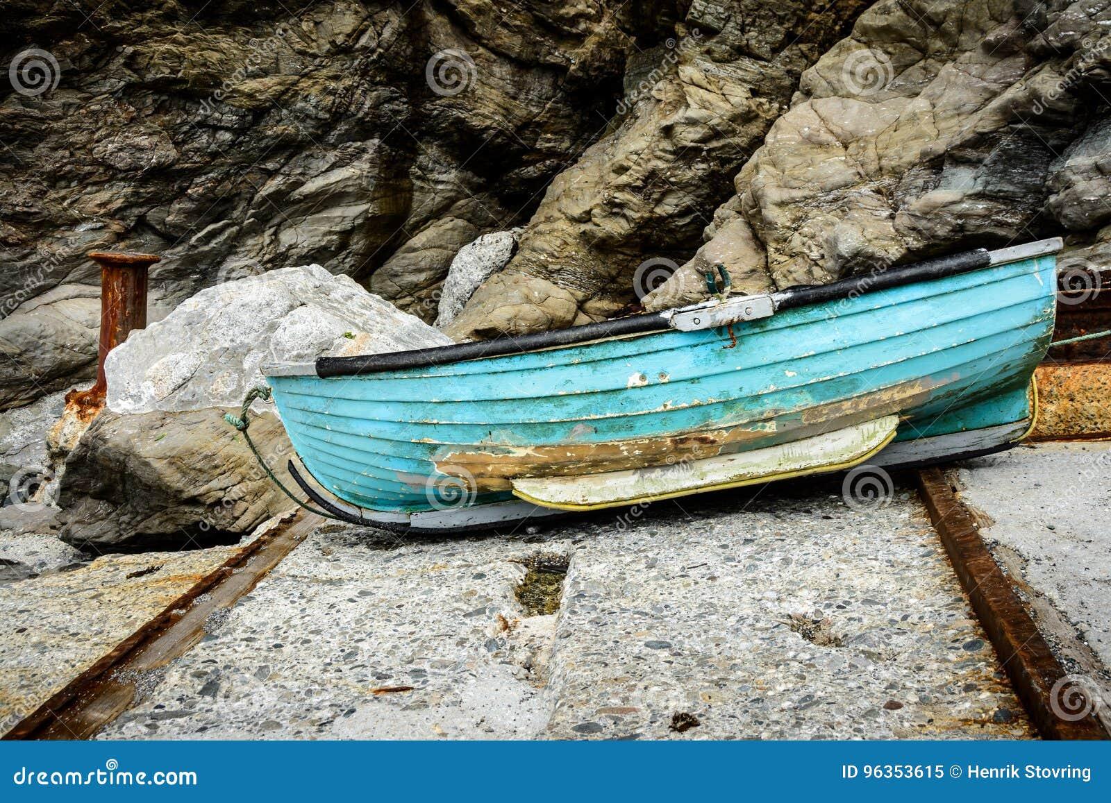 Oude boot, Cornwall