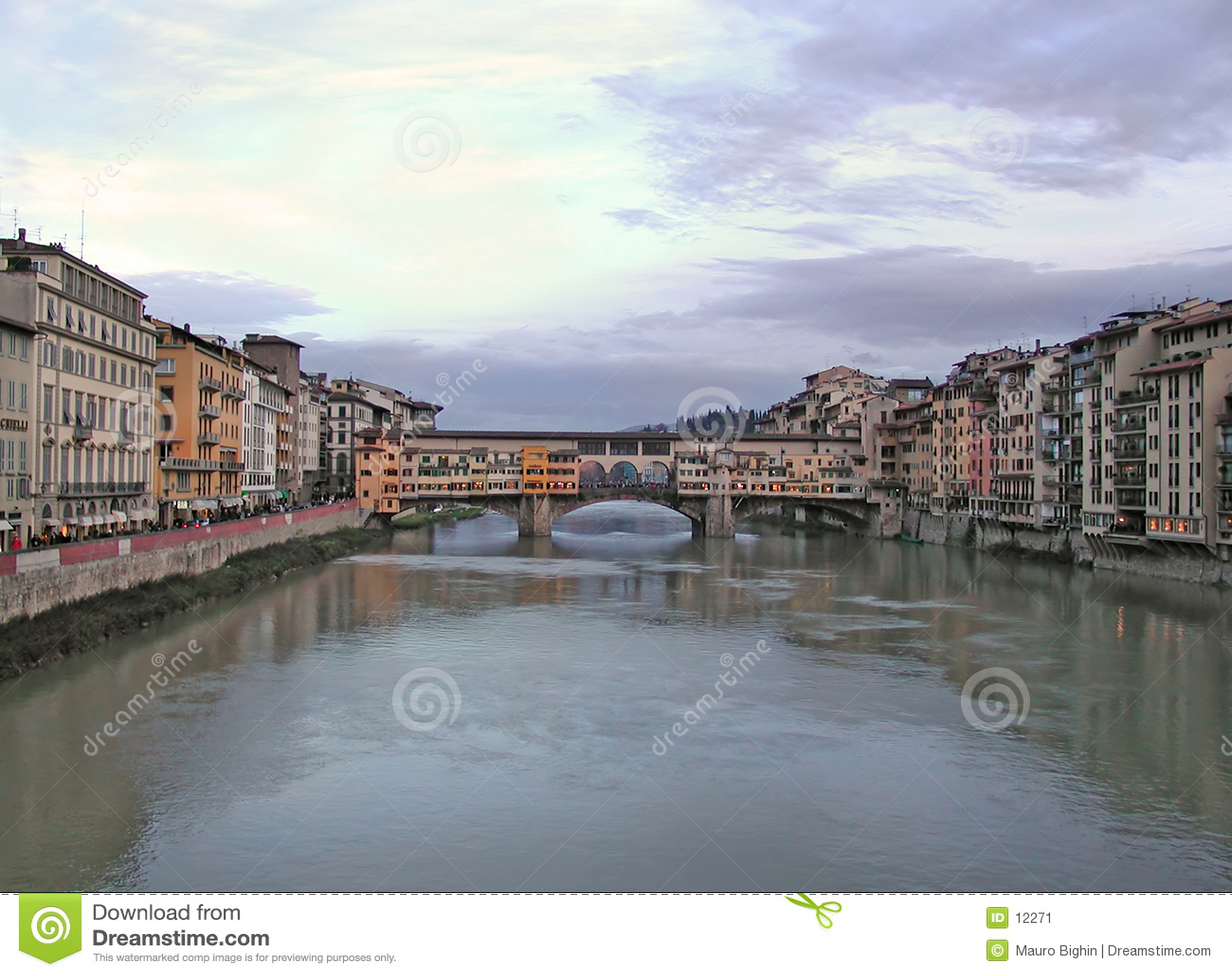 Oude Brug - vecchio Ponte - Florence - Italië