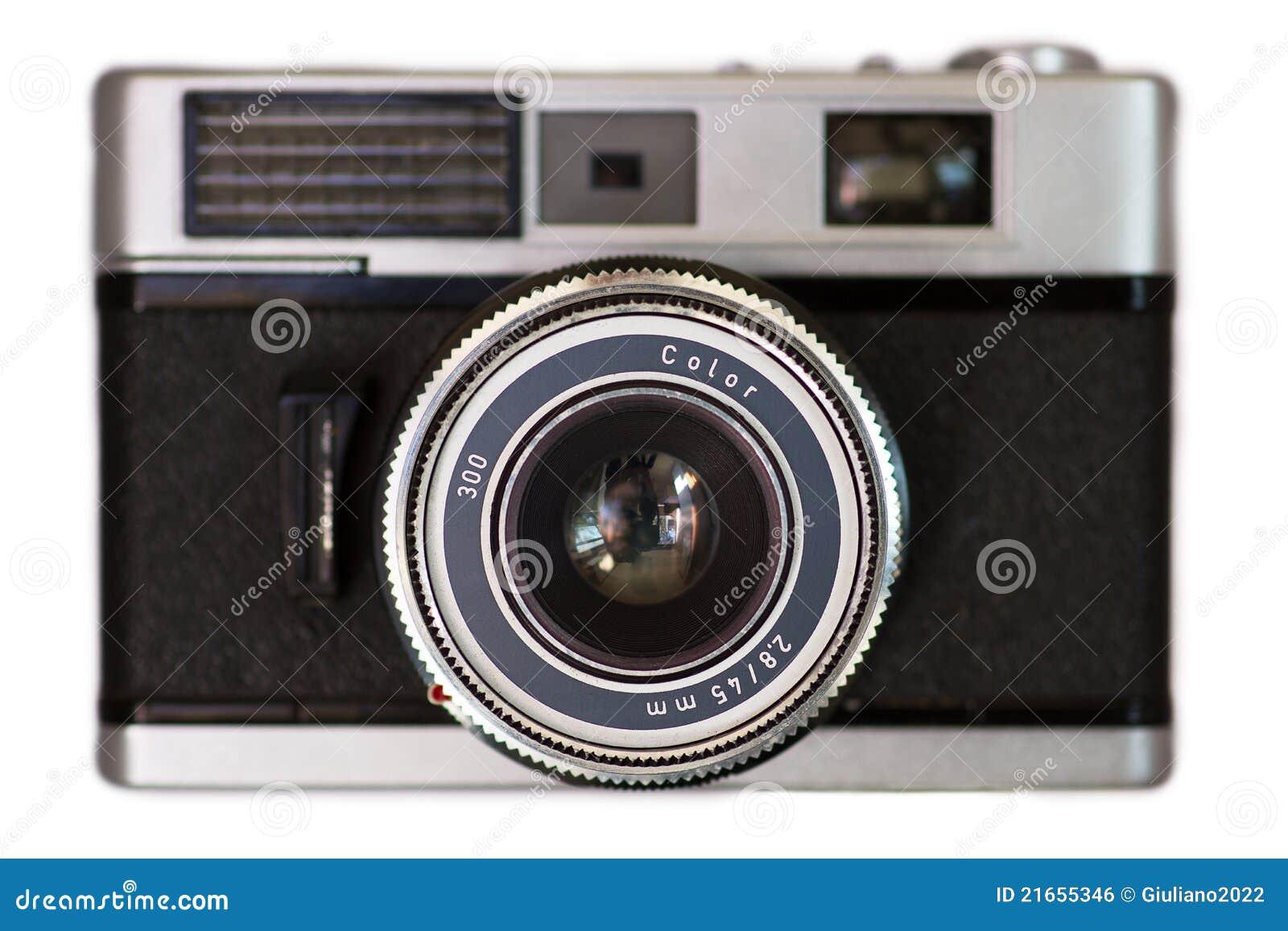 Oude camera stock foto afbeelding bestaande uit retro 21655346 - Foto in camera ...