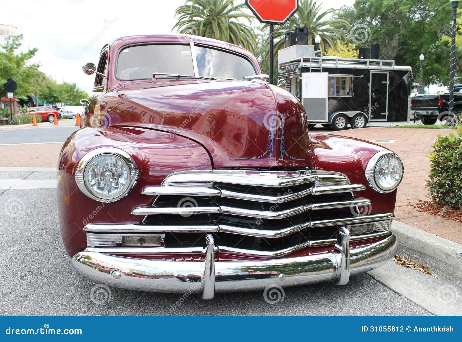 Oude Chevrolet-auto