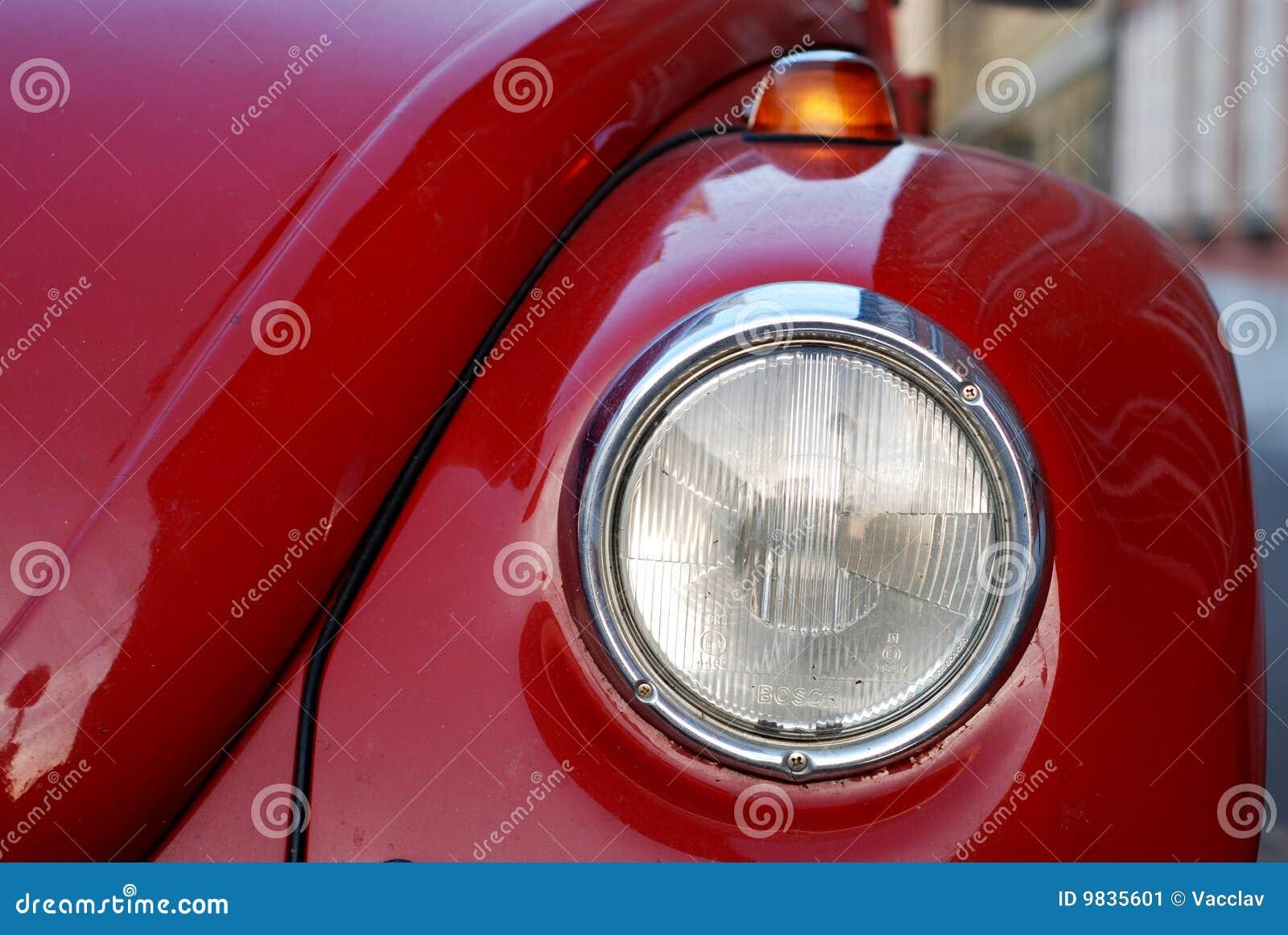 Oude de Kever van VW Volkswagen