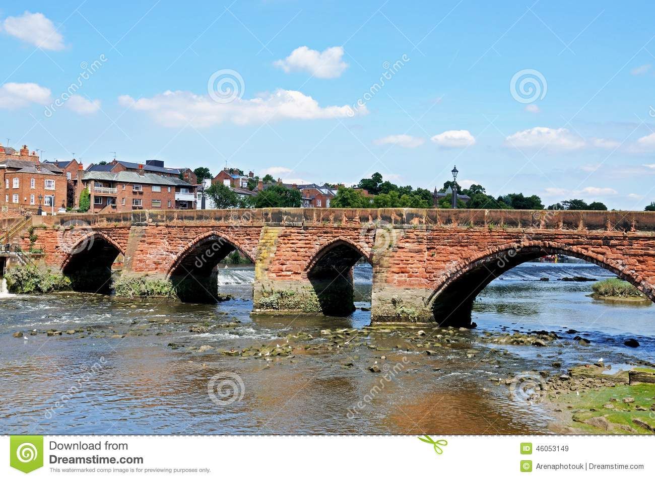 Oude Dee Bridge, Chester