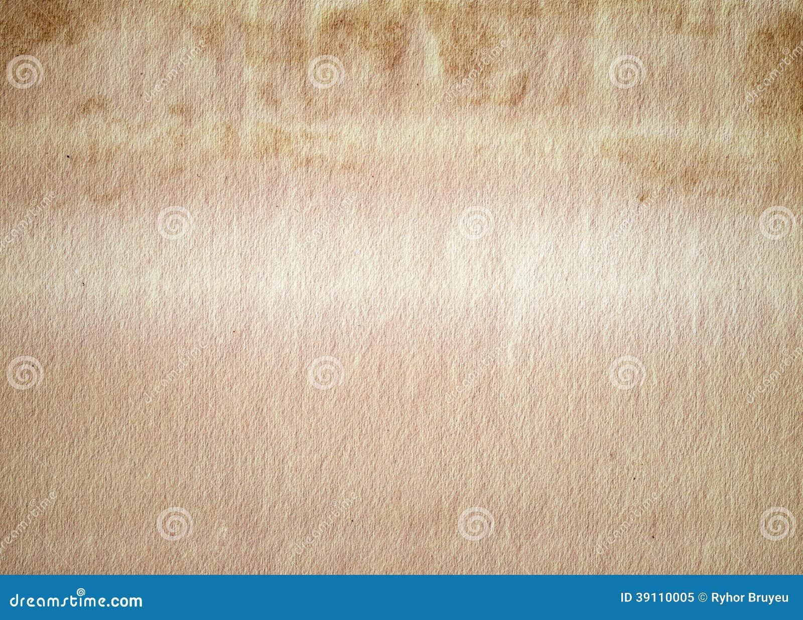 Oude Document Textuur, Achtergrond