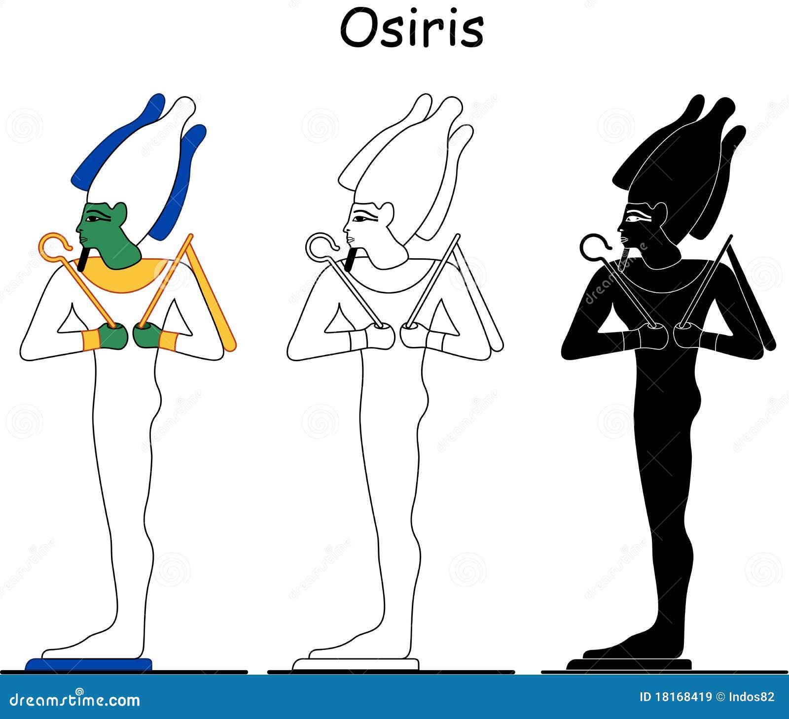 Oude Egyptische god - Osiris