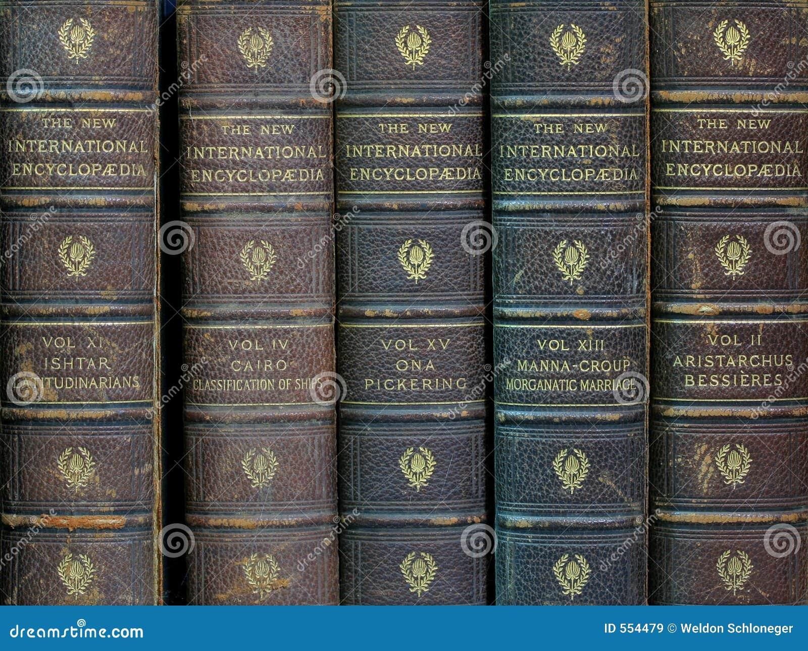 Oude encyclopedieën