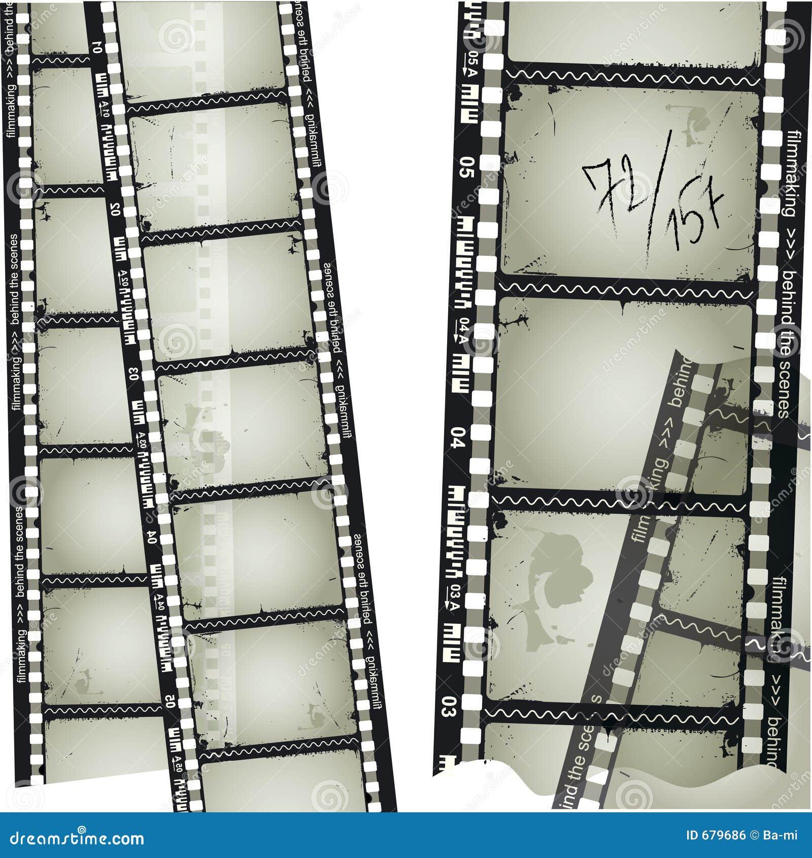 Oude filmstrip