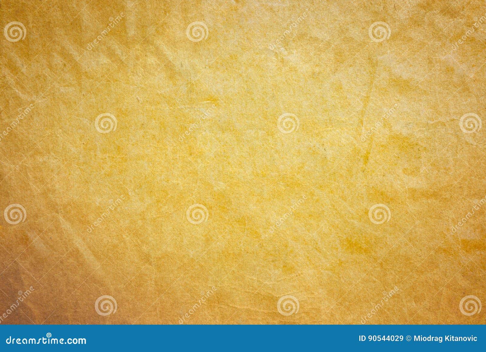 Oude gouden document achtergrond