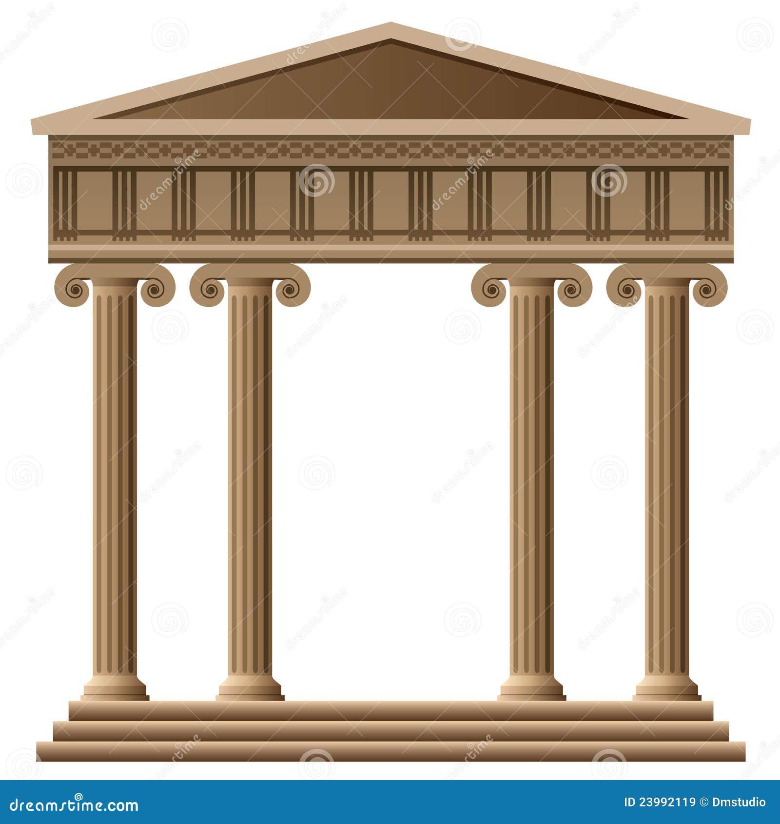 Oude griekse architectuur royalty vrije stock afbeeldingen afbeelding 23992119 - Oude griekse decoratie ...