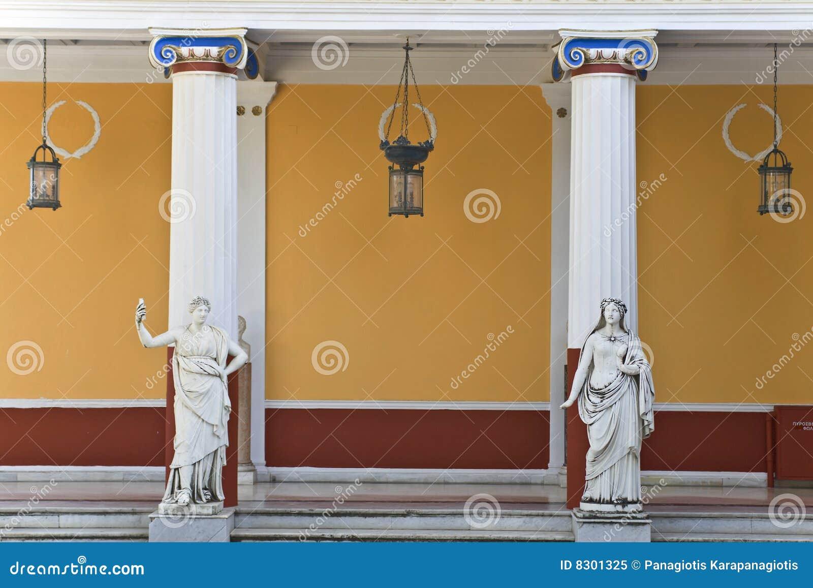 Oude griekse standbeelden royalty vrije stock foto afbeelding 8301325 - Oude griekse decoratie ...